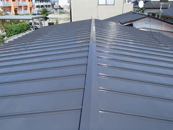 宮城県東松島市 トタン屋根塗装