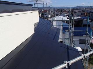 トタン屋根塗装 高日射反射塗料
