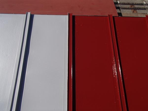 トタン屋根 上塗り塗装 シリコン