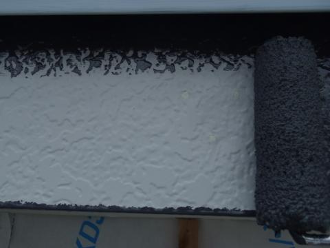 錆び止め塗装 破風板塗装 トタン