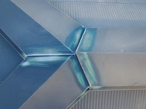 トタン屋根塗装 棟包み シリコーンシーラント撤去