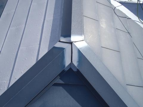 トタン屋根塗装 棟包み シーリング