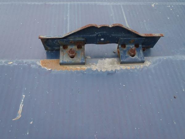 トタン屋根塗装 雪止め 錆