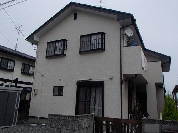 外壁塗装 屋根塗装 宮城県石巻市 施工後