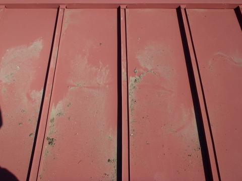 トタン屋根塗装 棟包み 砂など
