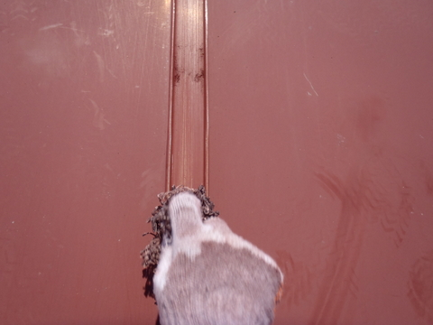 トタン屋根塗装 ケレン作業