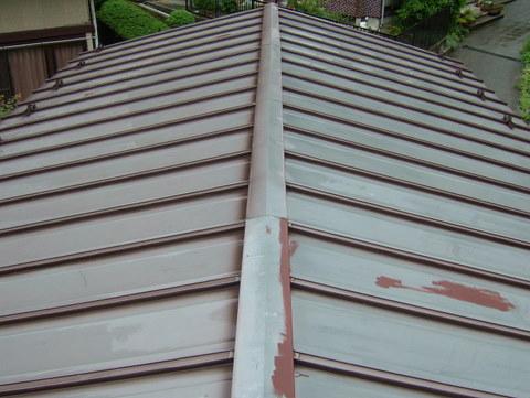 トタン屋根塗装 施工前