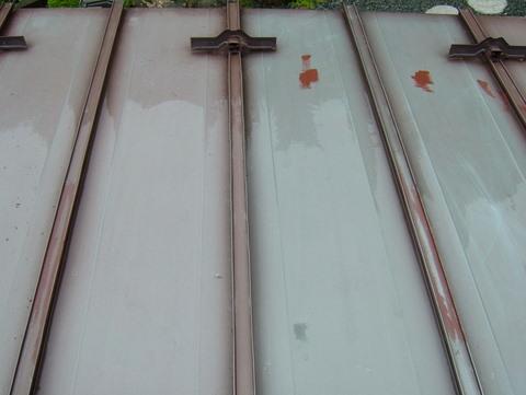 トタン屋根塗装 高圧洗浄