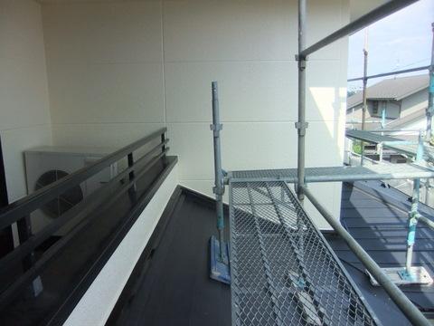 外壁塗装 ALC 上塗り2回目