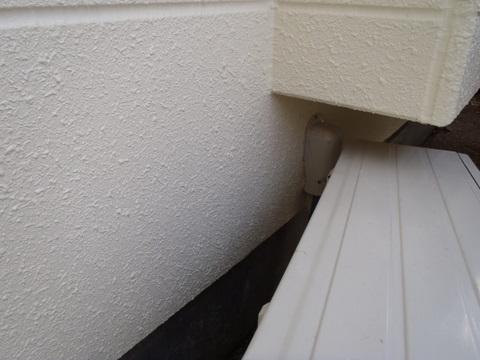 外壁塗装 クラック 補修後