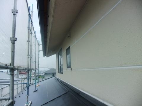 宮城県仙台市 外壁塗装 水洗い後
