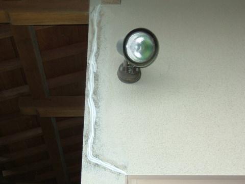 外壁塗装 Vカット シーリング