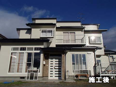 宮城県東松島市 外壁塗装 屋根塗装 施工後