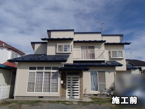 宮城県東松島市 外壁塗装 屋根塗装 施工前