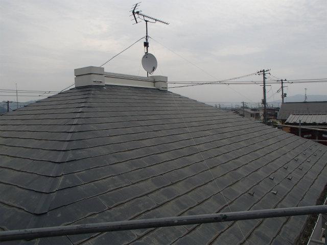 屋根塗装 洗浄前 カラーベスト