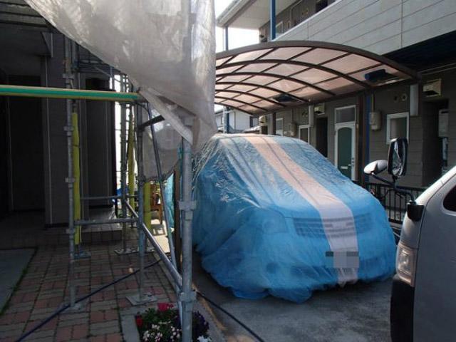 カラーベスト 屋根塗装 飛散対策