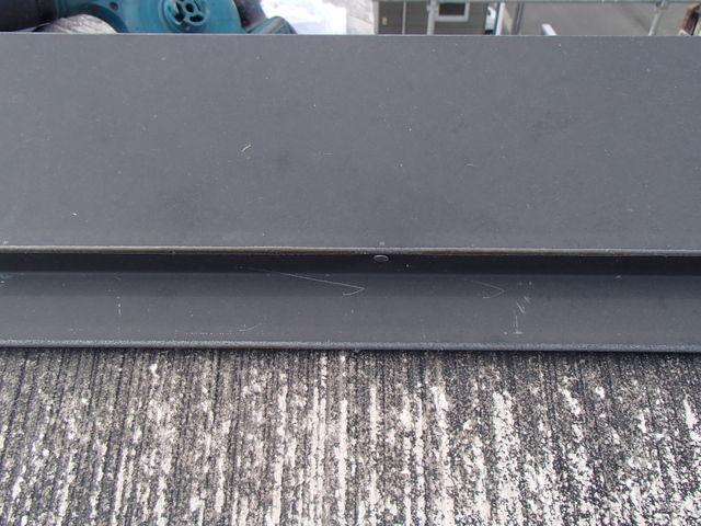 屋根塗装 棟包み 釘