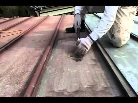 youtube トタン屋根塗装