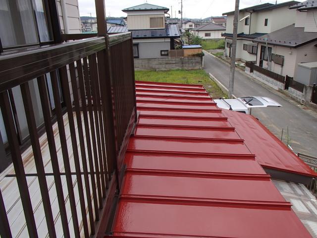 トタン屋根 上塗り塗装