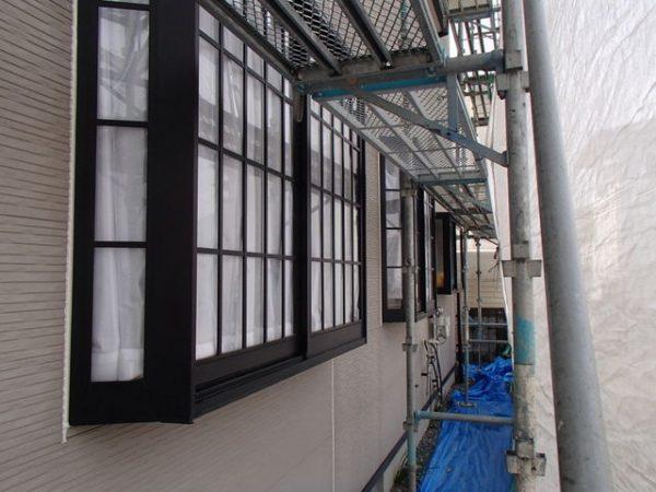 外壁塗装 窓周り 増し打ち