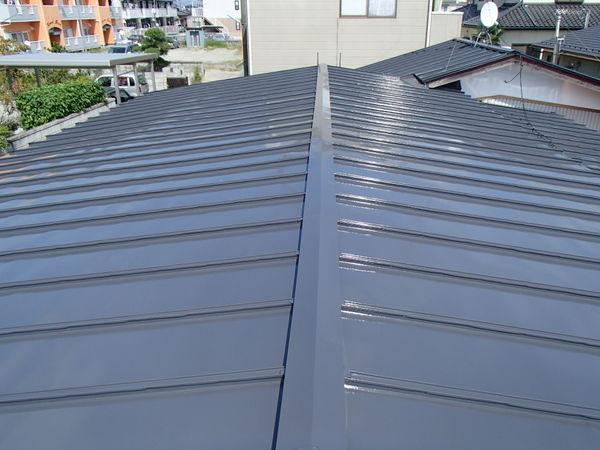 トタン屋根塗装 施工後 宮城県東松島市
