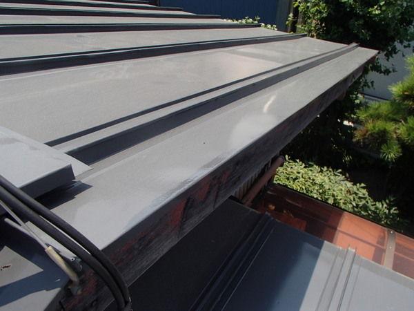 トタン屋根塗装 約3年後