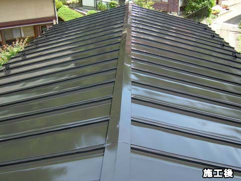 トタン屋根塗装 施工後