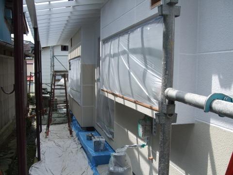 外壁塗装 ALC 下塗り