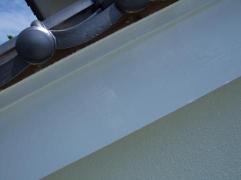 破風板 上塗り4~5回塗り アクリルシリコン
