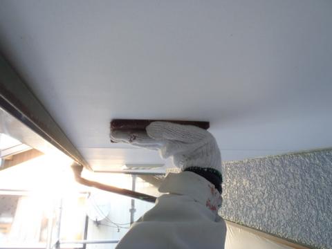 外壁塗装 軒天 下地処理