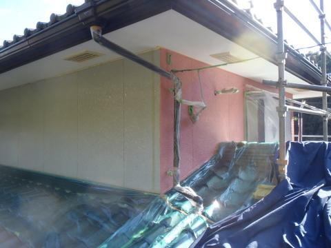 外壁塗装 下塗り 上塗り1回目