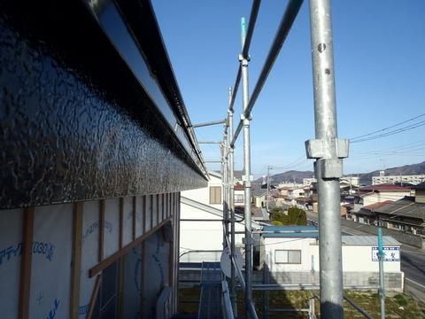 鼻隠し 破風板塗装 施工後