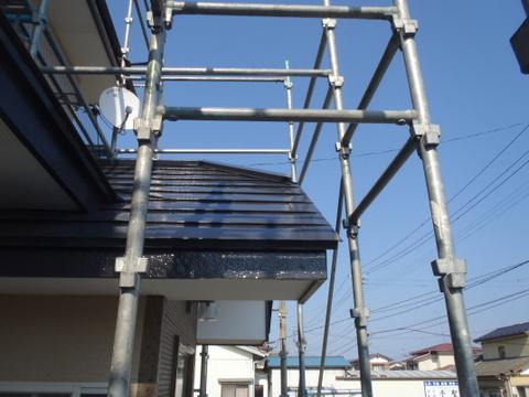 トタン 破風板塗装 施工後