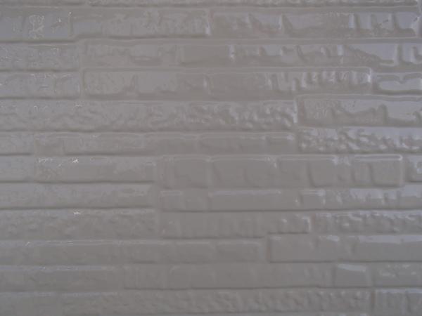 外壁塗装 金属サイディング 上塗り2回目塗装