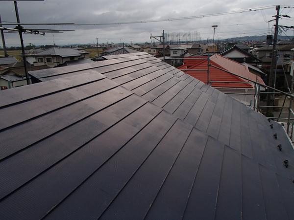 トタン屋根塗装 高圧洗浄前