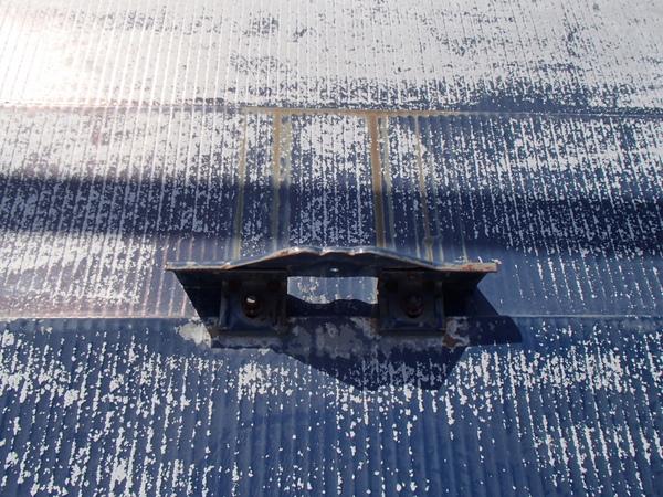 トタン屋根塗装 雪度 サビ