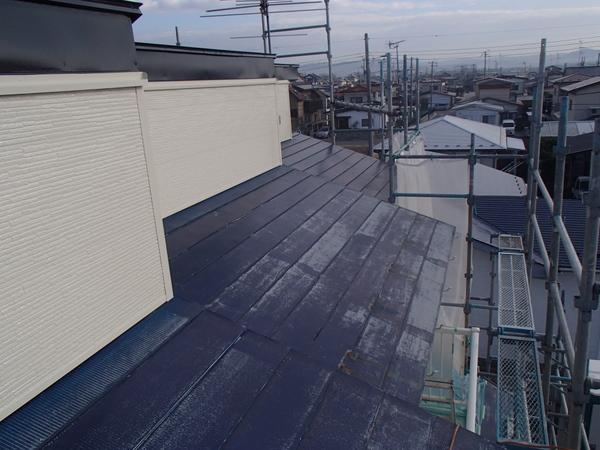 トタン屋根塗装 ケレン前