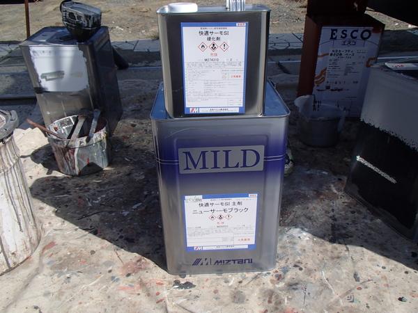 快適サーモ 高反射率塗料 トタン屋根塗装