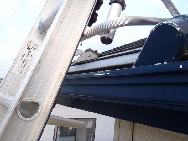 トタン屋根塗装 ラダーキング はしご