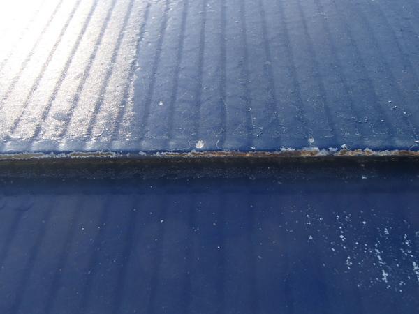 トタン屋根塗装 錆