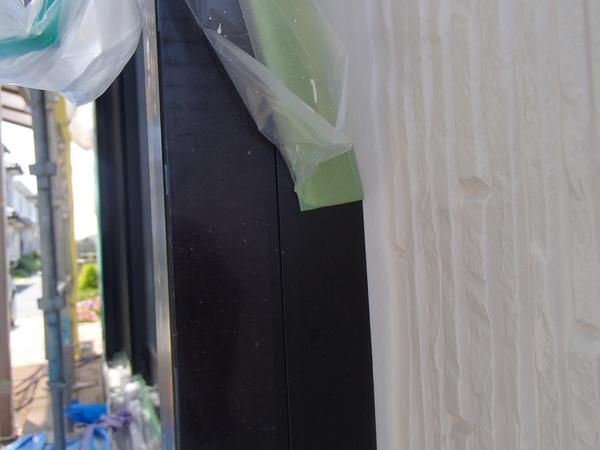 外壁塗装 養生 撤去