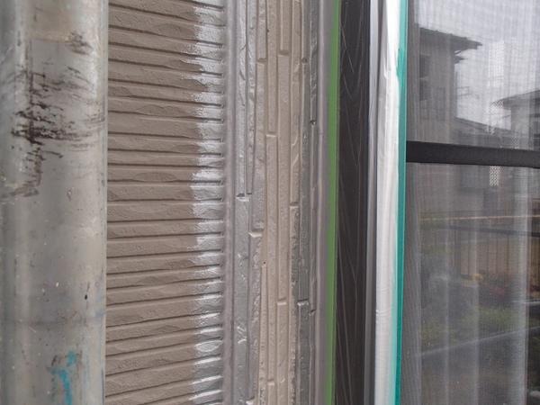 外壁塗装 シリコーンシーラント 処理後