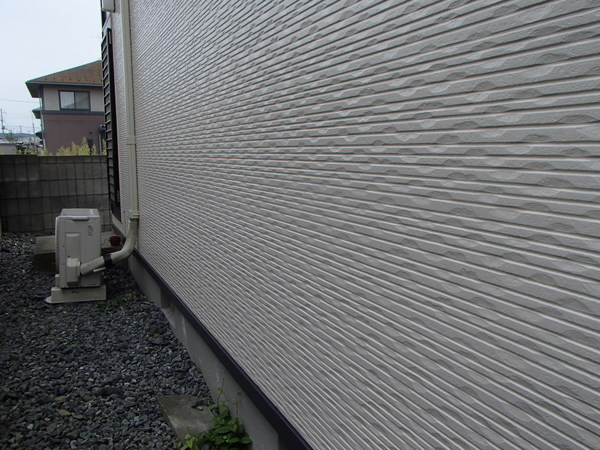 外壁塗装 宮城県石巻市 施工後 1年目