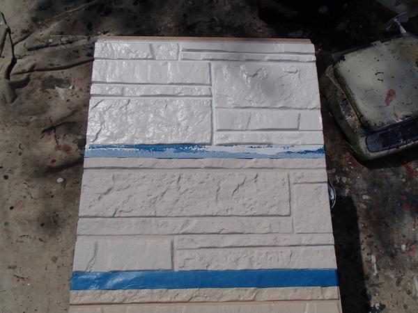 外壁塗装 ニチハ製 付着性テスト