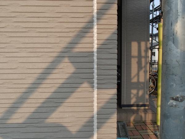 外壁塗装 シーリング/コーキング 充填後