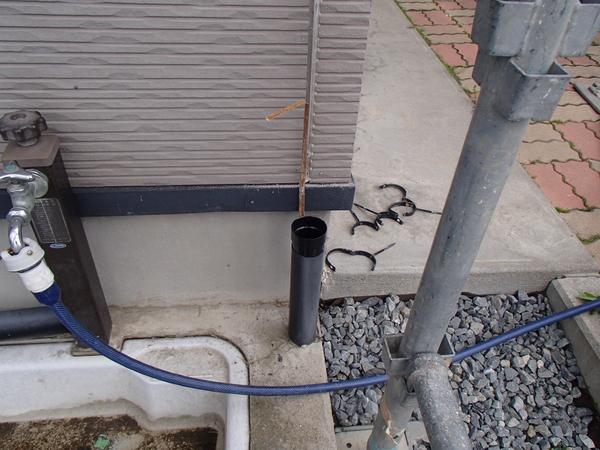外壁塗装 雨樋 一旦撤去 コーキング
