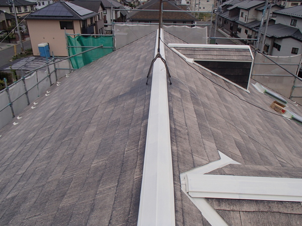 屋根塗装 下塗り3回目 シーラー