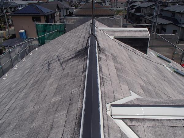 屋根塗装 錆び止め 棟包み 雪止め