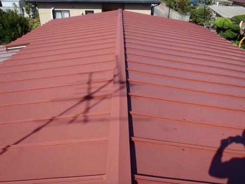 宮城県東松市 トタン屋根塗装 施工前