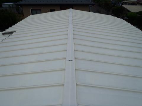トタン屋根塗装 高反射率塗料 下塗り 快適サーモプライマー
